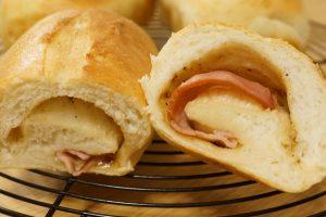 ベーコン食パン