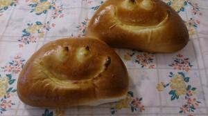 ニコニコクリームパン