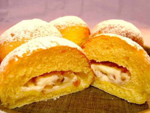 体験コース:オレンジチーズパン