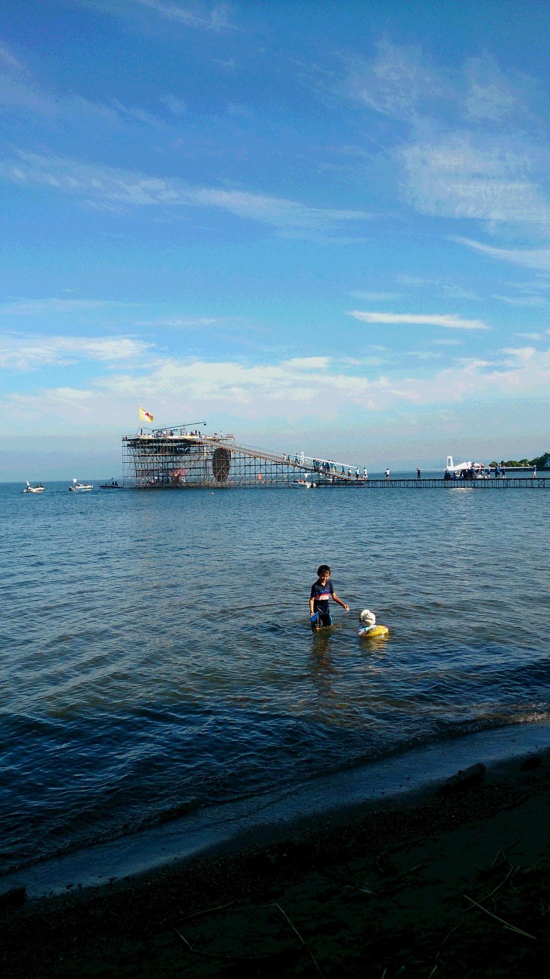 琵琶湖~大阪へ行ってきました①