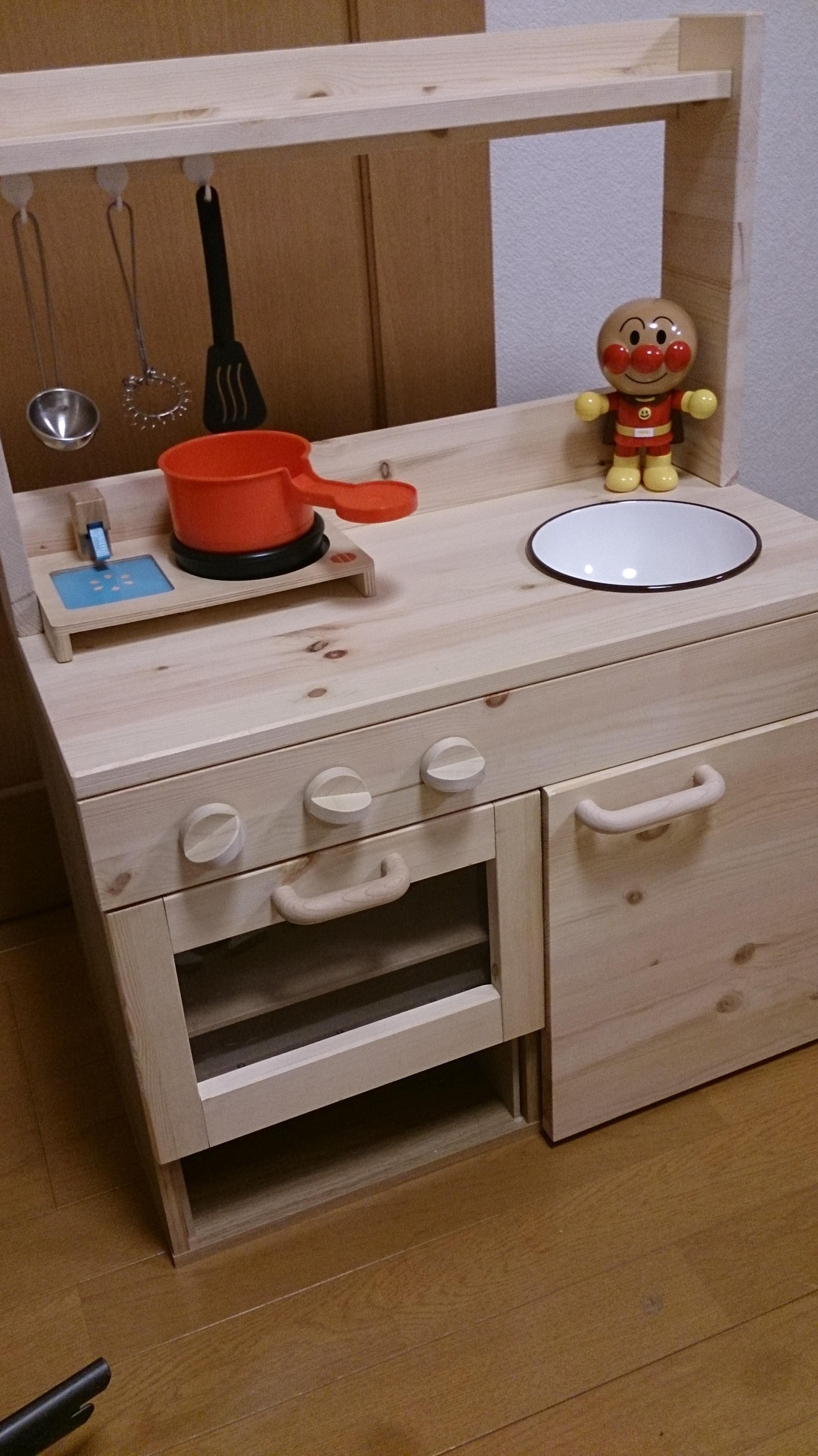 娘のキッチン完成☆彡