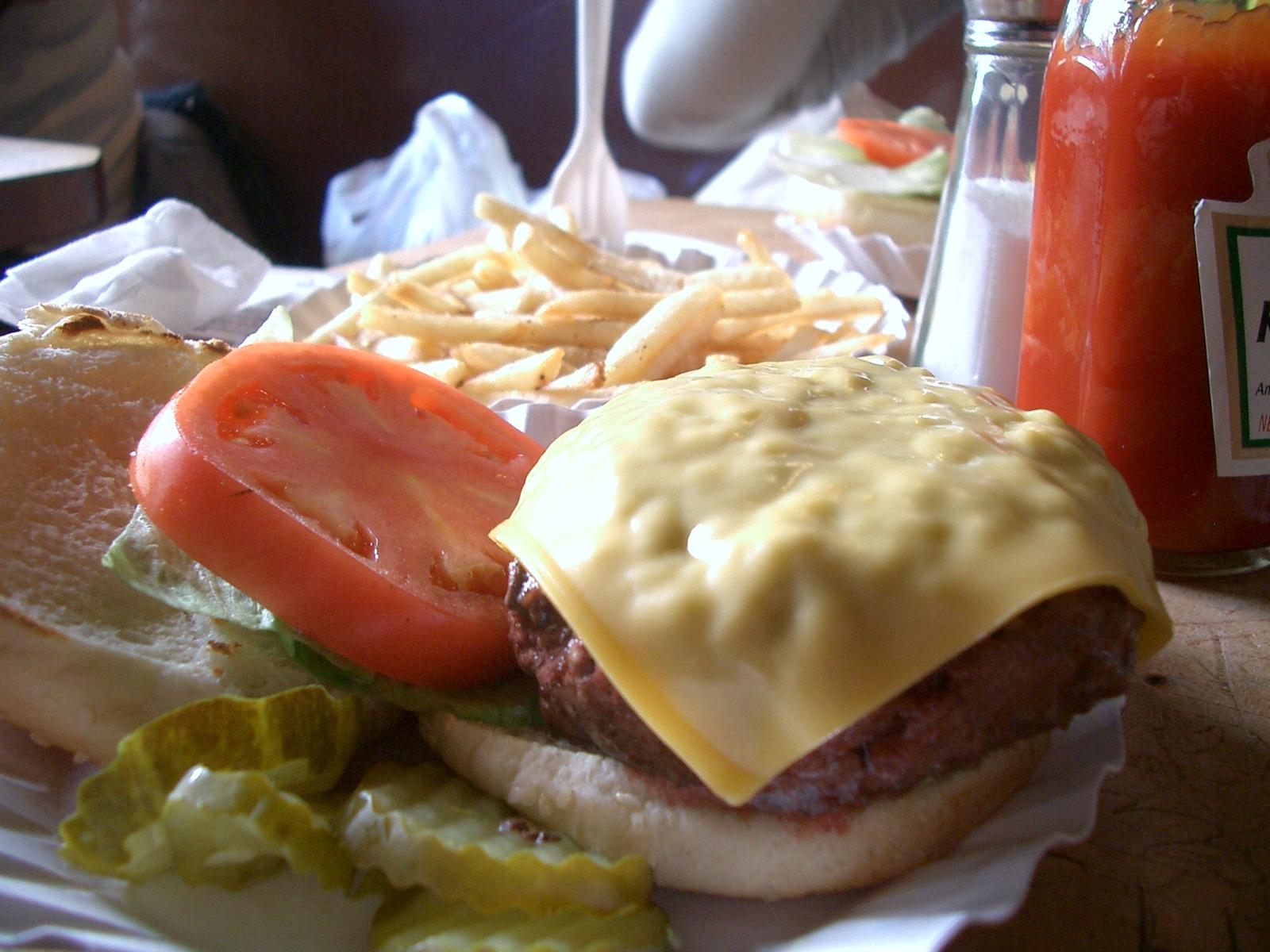 NYのハンバーガー