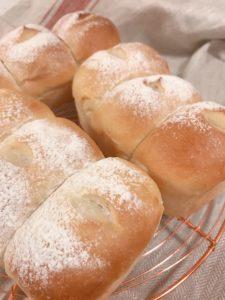ホエイ入りミニ食パン
