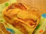 ステップアップコース:ねじ食パン(チーズ&ベーコン)