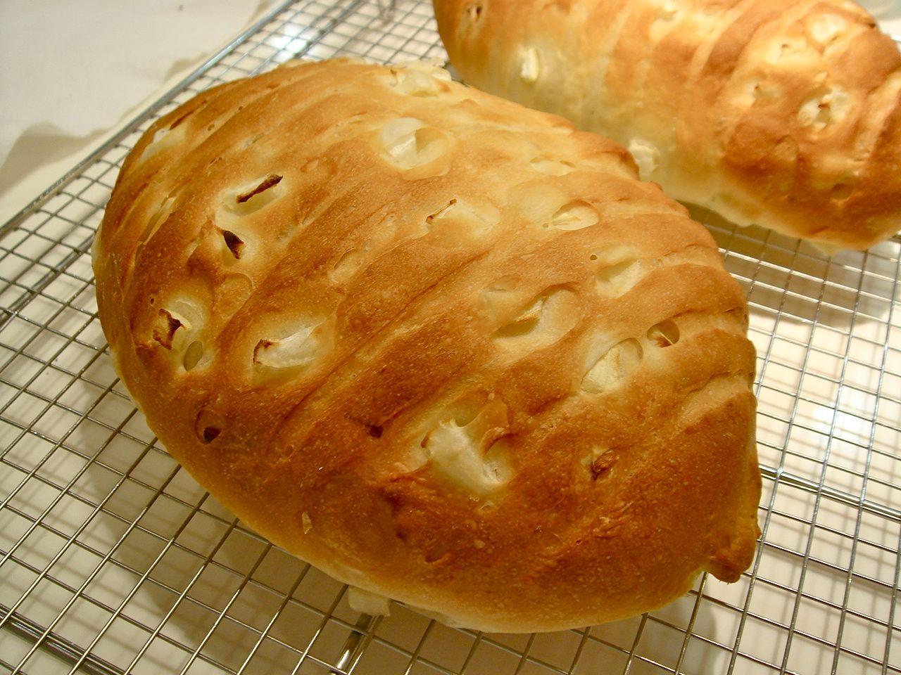 ステップアップコース:玉ねぎパン