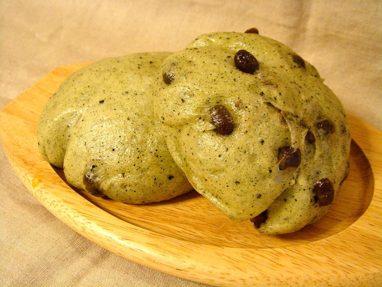 ステップアップコース:蒸しパン(よもぎ&小豆)